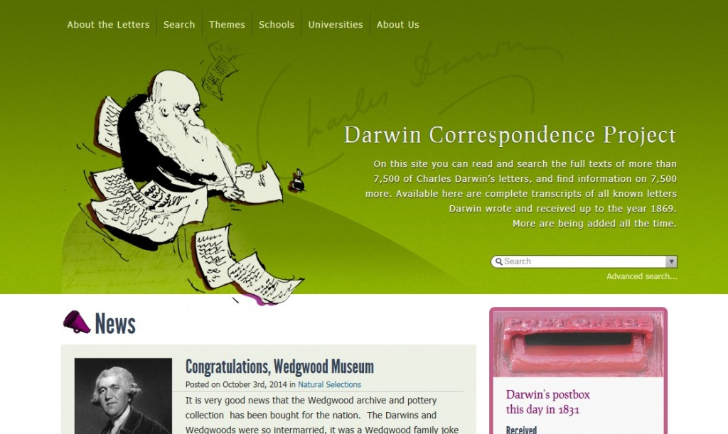 Darwin correspondence project