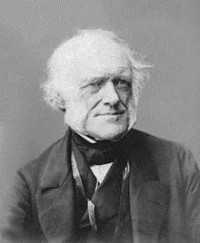 Photograph of Charles Lyell taken by John & Charles Watkins (Image via Wikimedia Commons)