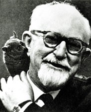 George Gaylord Simpson in 1965 (Image from Concession to the Improbable: An Unconventional Autobiography via Wikimedia Commons)