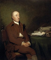 Portrait of James Hutton painted by Sir Henry Raeburn dating to around 1776 (Image via Wikimedia Commons)