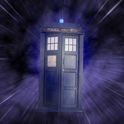 'The TARDIS', which looks like a police phone box from 1950's Britain, features in a popular and long-running UK TV series called 'Dr Who'.  Its main character, known as 'The Doctor' uses this vehicle to travel in time and space.   'The Doctor' periodically reinvents himself, as has the TV series of which he is part (Image: Wikimedia Commons)