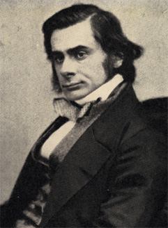Studio portrait of Thomas Henry Huxley taken by Maull & Polyblanc, a London-based commercial photographers who, in the nineteenth century, specialised in images of eminent figures (Image via Wikimedia Commons)