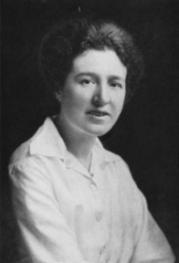 Agnes Arber. An article in the Annals of Botany from 2001 suggest the image was taken ca. 1916 or 1917 (Image: Wikimedia Commons)