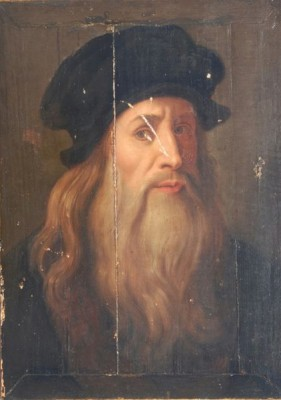 This painting of Leonardo da Vinci is believed by some experts to be a self-portrait.  What does his gaze tell you? (Image: Wikimedia Commons)